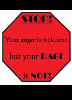 Anger Management Stop Sign