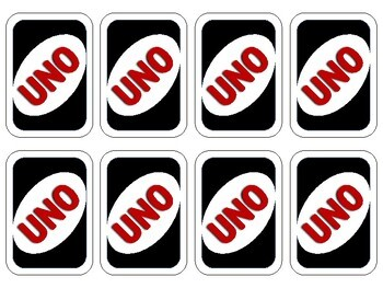 Anger Management UNO Counseling Game