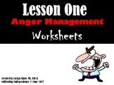 Anger Management Worksheets Lesson 1