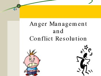 Anger Management and Conflict Resolution for Middle School Students