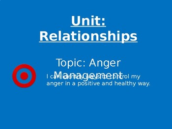 Anger Management: angry birds power point