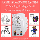 Anger Management for Kids: 185 Calming Strategy Cards