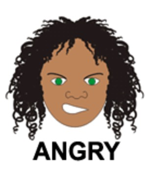 Anger - One of Nine Faces of Emotions for Emotional Intell