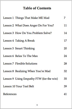 Anger Program with Complete Facilitator's Guide