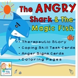 Anger Signs & Coping Skills: THE ANGRY SHARK SOCIAL STORY 4 Behavior Management