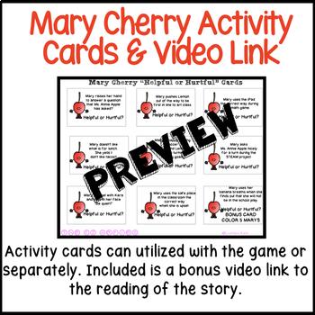 Anger Social Narrative Bundle (Meet Mary Cherry)