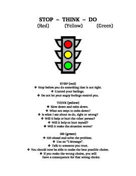 Anger Stoplight