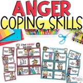 Anger Triggers & Calm Down Strategies Self-Regulation Activity!