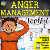 Anger Management & Coping with Frustration   SEL Digital & Print