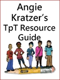Angie Kratzer's TpT Resource Guide