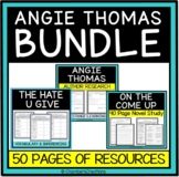 Angie Thomas Bundle- The Hate U Give, On The Come Up