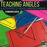 Angle Activities!  3 Activities to Deepen Understanding