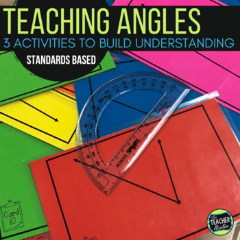 Angle Activities!  3 Activities to Deepen Understanding