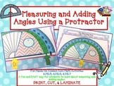 DIGITAL Measure and Add Angles using a Protractor -Distanc