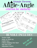 Angle Angle Criterion for Similarity