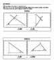 Angle Angle Triangle Similarity Cut and Paste Activity