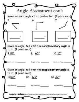 Angle Assessment