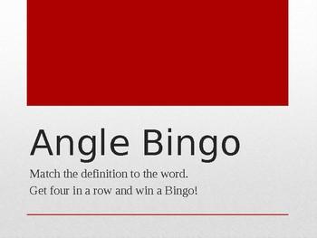 Angle Bingo