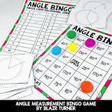 Angle Bingo: 4th Grade Math Centers 4.MD.5