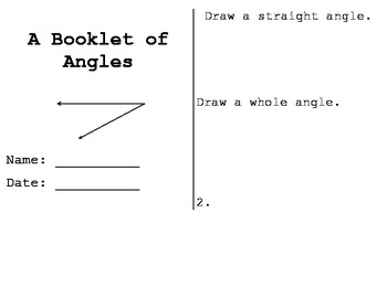 Angle Booklet
