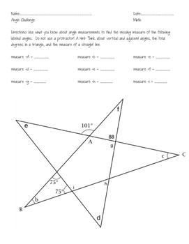 Angle Challenge