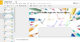 Angle Exploration Interactivity with Google Slides