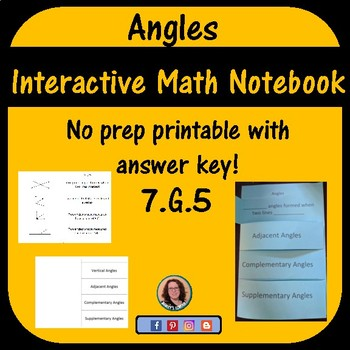 Angle Foldable For Interactive Notebook