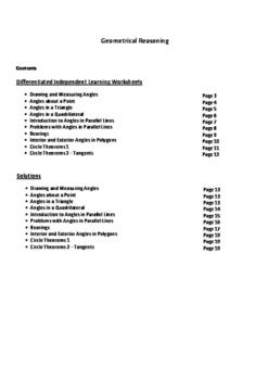 Angle Geometry and Circle Theorems eBook