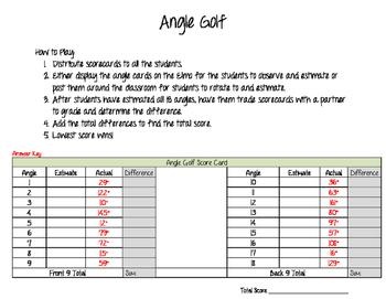Angle Golf
