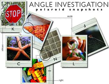 Angle Investigation: Polaroid Snapshots