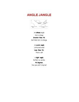 Angle Song (Angle Jangle)