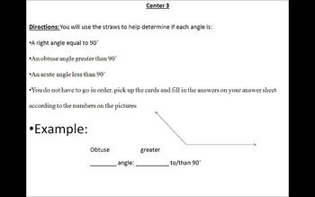 Angle Lesson with Centers
