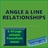 Angle & Line Relationships PowerPoint Lesson