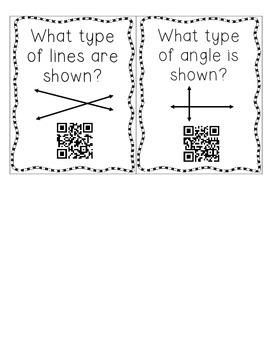 Angle & Lines QR Code FREEBIE!