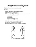 Angle Man Diagram: Identify Parts of an Angle