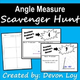 Angle Measure: Scavenger Hunt