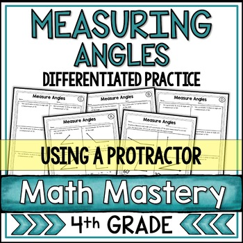 Measuring Angles With A Protractor Worksheets By Shelly Rees Tpt