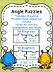 Measuring Angles with a Protractor Puzzles 4.MD.6