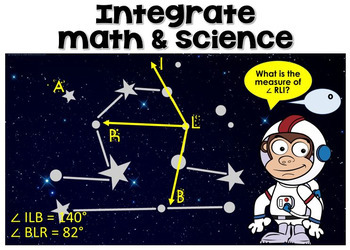 Angle Measurements ~ Finding the Measurements of Angles in Constellations