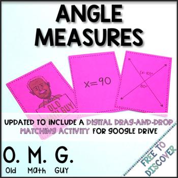 Angle Measures Card Game