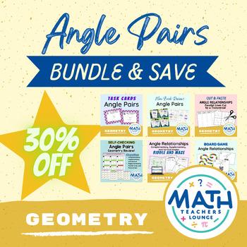 Angle Pair Activity Bundle