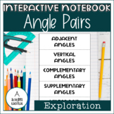 Angle Pair Notes Foldable