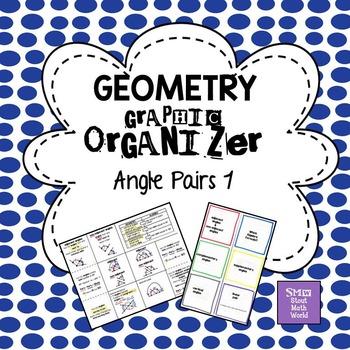 Angle Pairs 1 Graphic Organizer