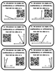 Angle Pairs - Complementary and Supplementary Angles (with and without) QR Codes