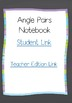 Angle Pairs Digital Interactive Notebook