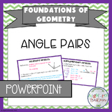 Angle Pairs PowerPoint/Keynote Presentation