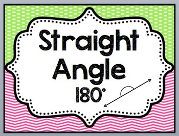 Angle Poster Set Bright Colored Polka Dot/Chevron Themed