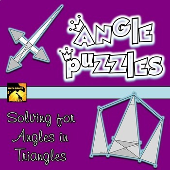 Angle Puzzles: Angles in Triangles
