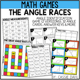 Angle Races Game (Acute, Right and Obtuse)