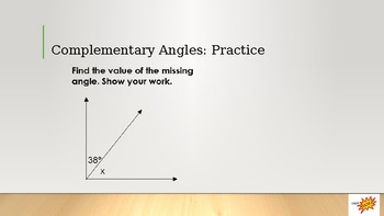 Angle Relations (Complementary, Supplementary, Vertical, Adjacent)